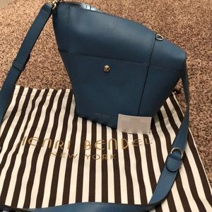 Henri Bendel Influencer Mini Hobo Bucket Bag